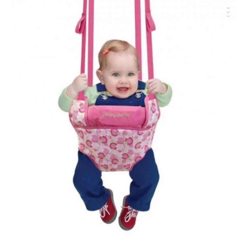 Когда можно ставить ребенка в прыгунки