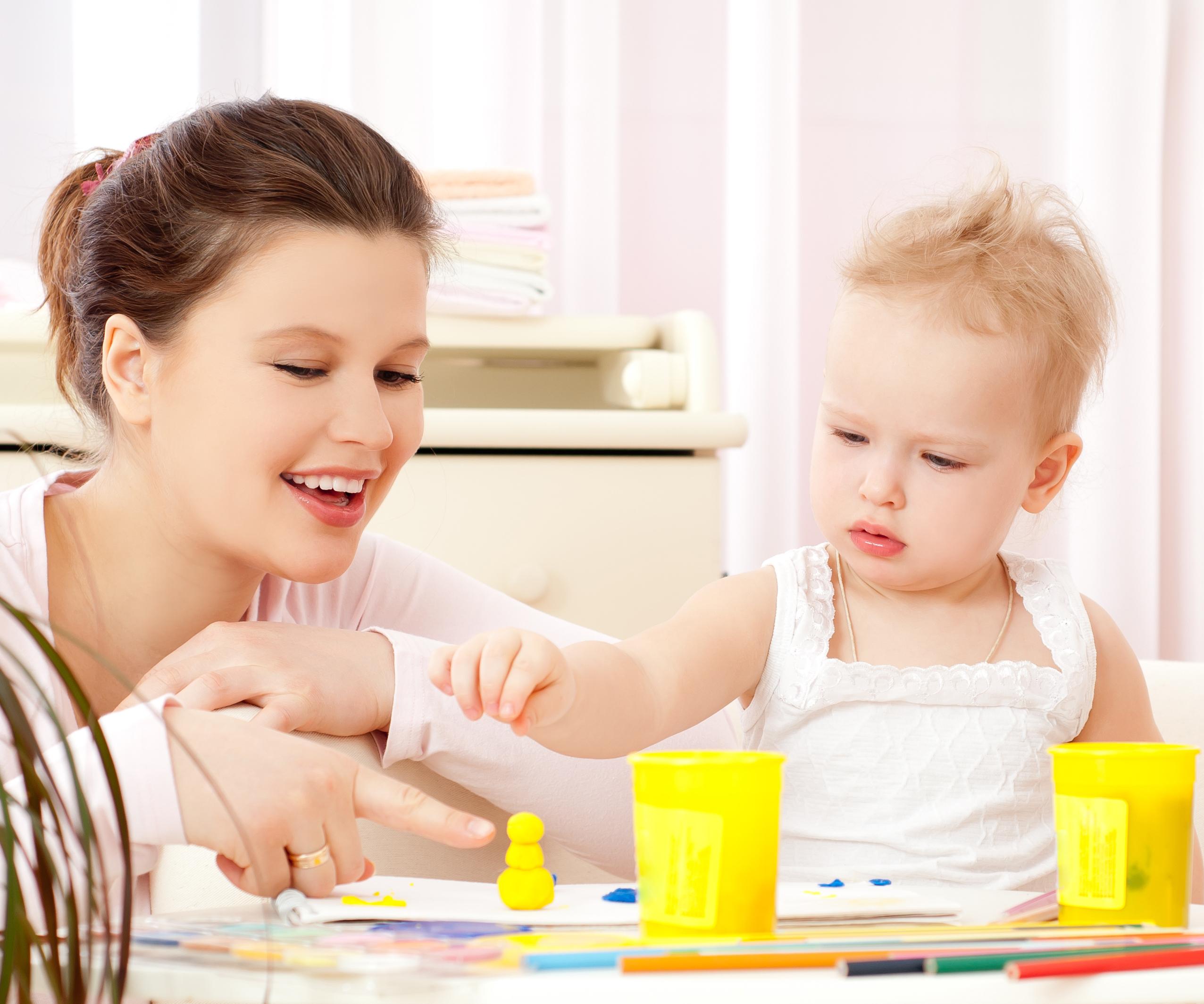 Развиваем ребенка в годик