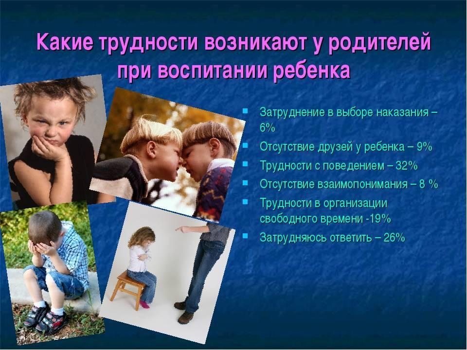 Ошибки родителей при воспитании ребенка, как воспитывать девочку и мальчика
