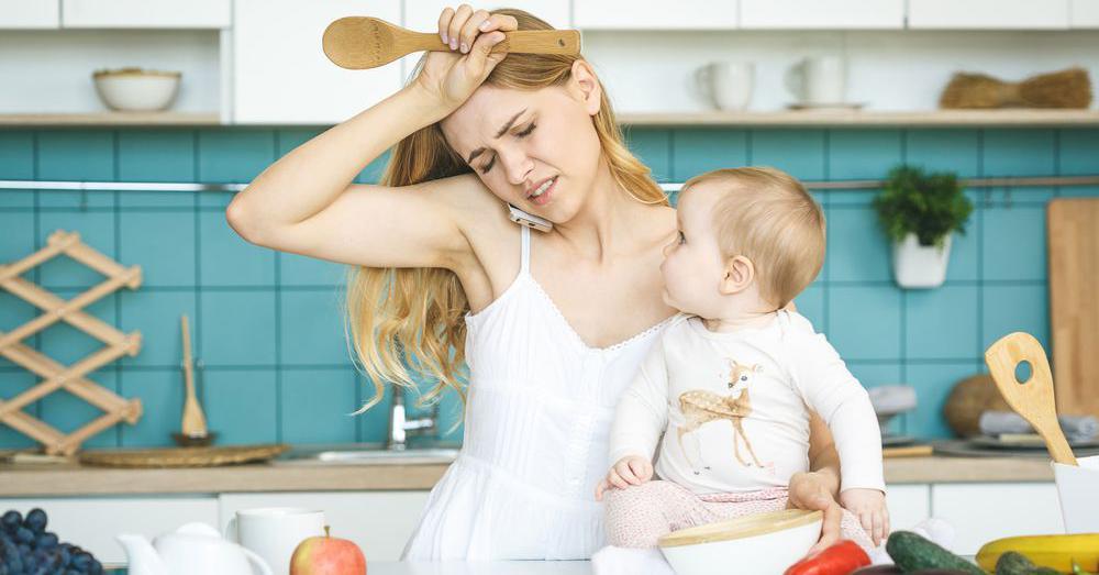 5 супер-способностей молодой мамы