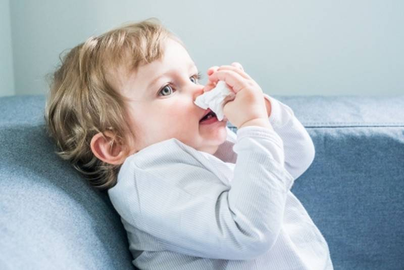 У ребенка не дышит нос - причины заложенности, диагностика, лечение медикаментами и народными средствами