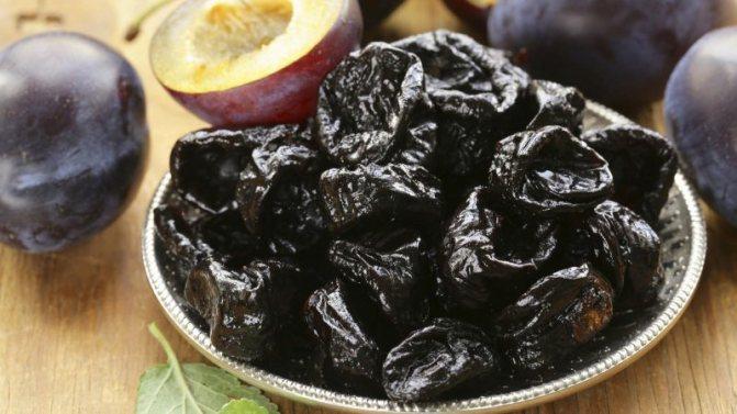Чернослив: вред и польза при грудном вскармливании