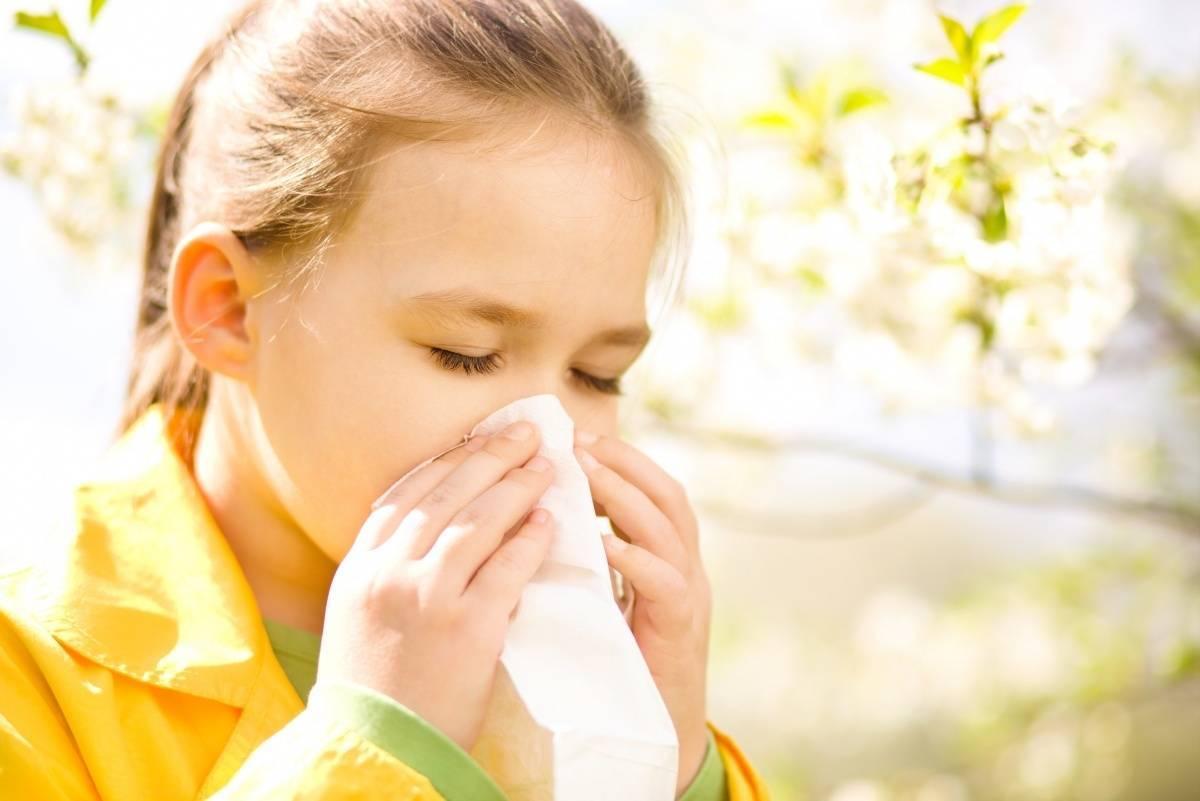 Симптомы и лечение поллиноза у детей