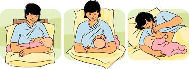 Позы для кормления ребенка: 14положений накаждый день
