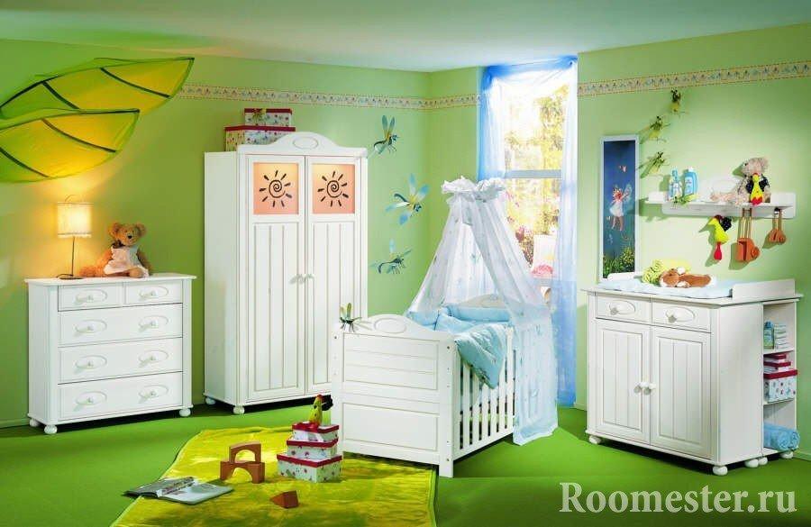 Комната для новорожденного: какие мебель и вещи понадобятся
