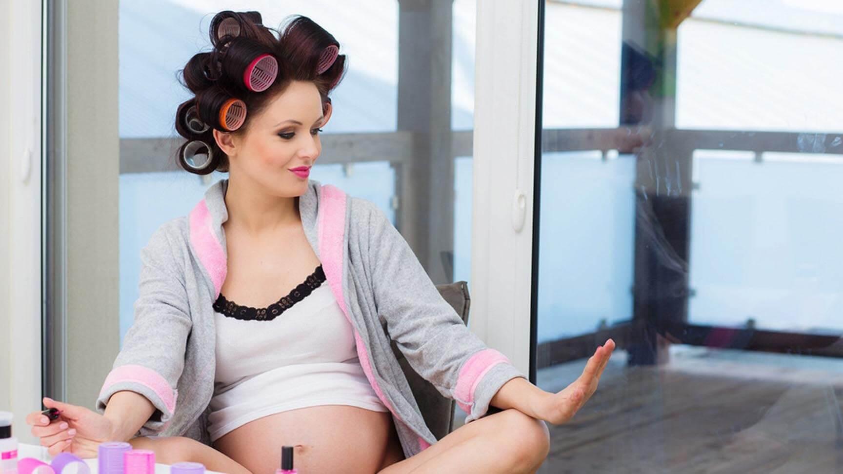 Можно ли беременным стричь волосы другим людям: видео-инструкция по уходу своими руками, красить женщинам локоны во время беременности, фото и цена