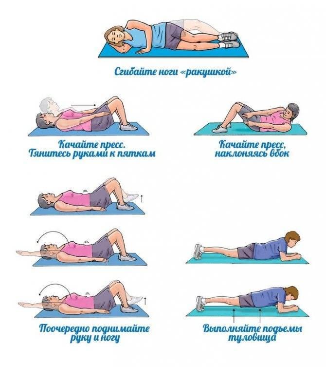 Как похудеть и убрать живот после родов: советы, видео-упражнения и меню