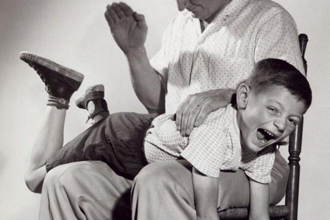 Почему нельзя бить детей, в том числе по попе
