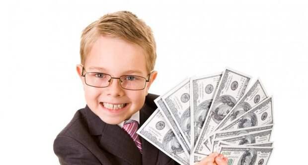 Финансовое воспитание детей: основные правила