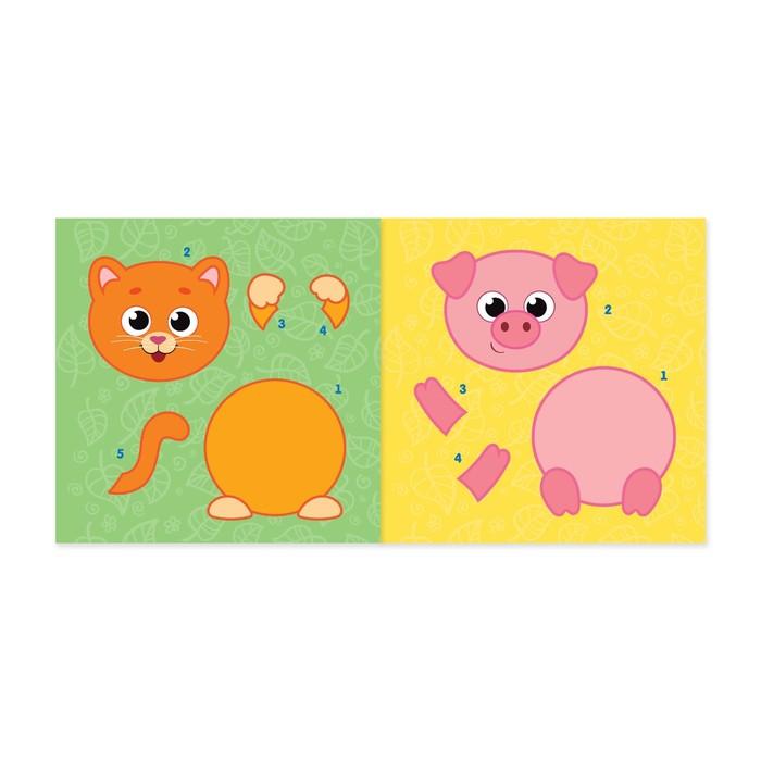 Аппликации из цветной бумаги - подборка интересных пошаговых мастер-классов для начинающих