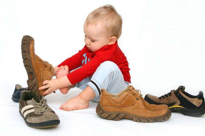 Лучшая обувь для первых шагов: секреты правильного выбора