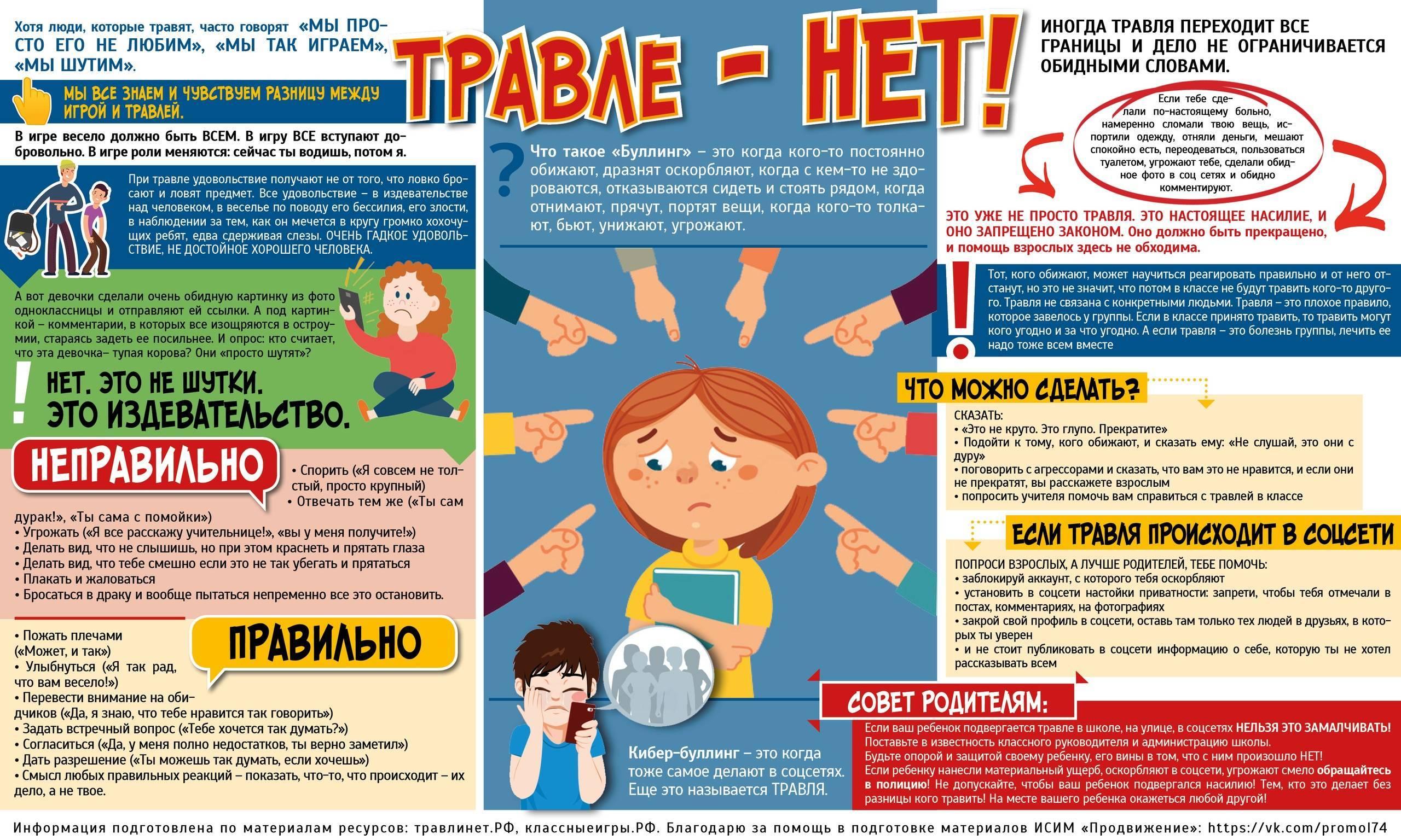 Буллинг и травля в школе: что делать и как защитить себя - советы психологов