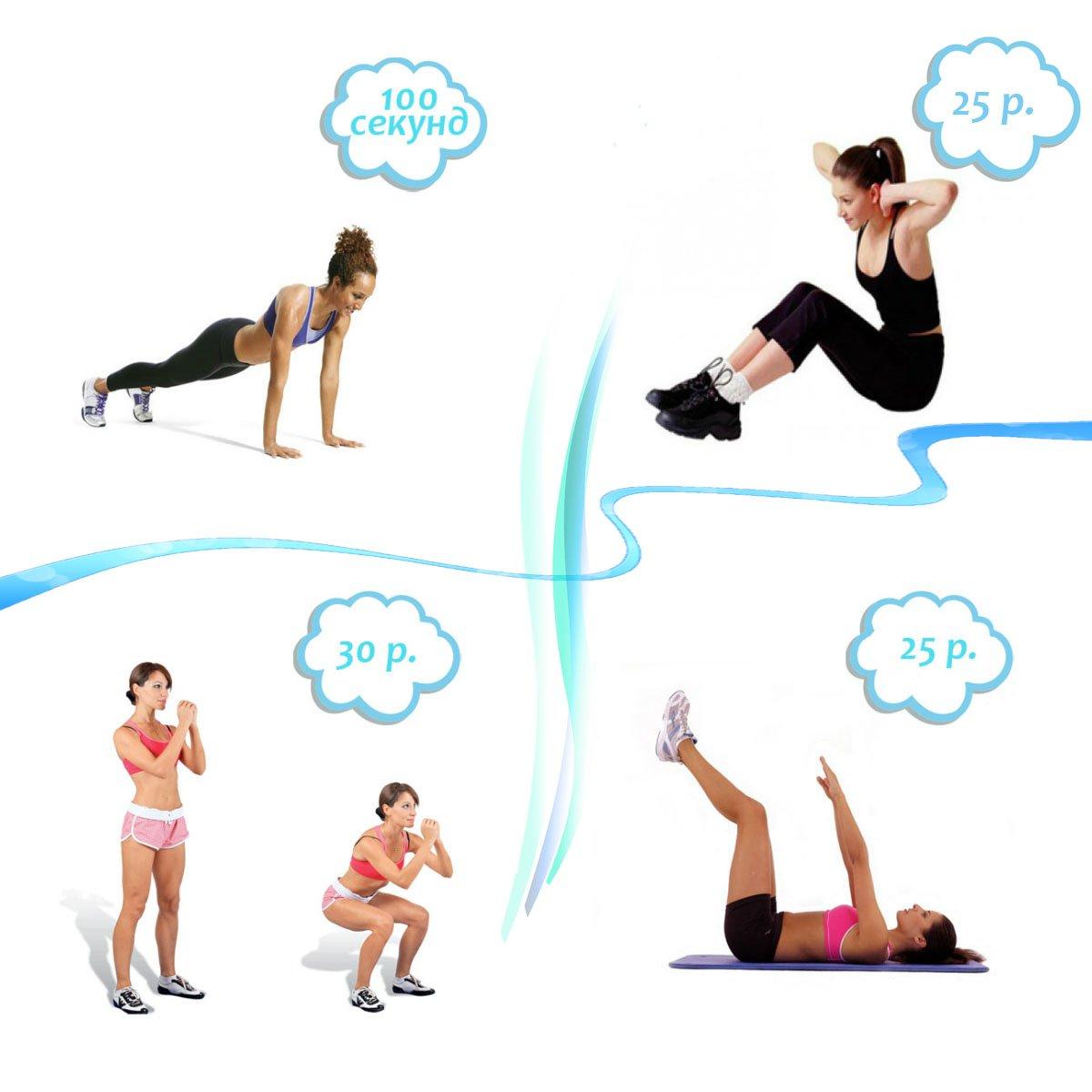 Похудение в домашних условиях: утренняя зарядка с лёгкими, но эффективными упражнениями