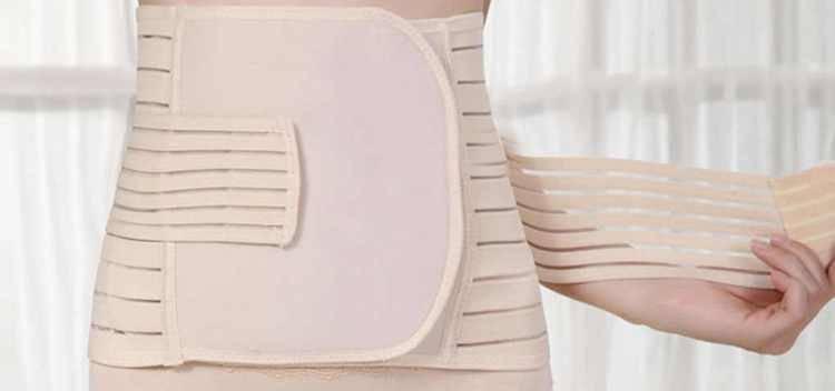 Как выбрать бандаж после родов и как его носить?