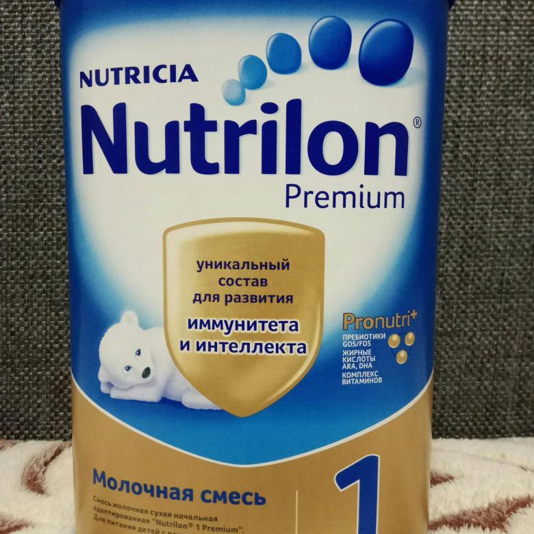 Молочная смесь «nutrilon premium-1»: как разводить для новорожденных