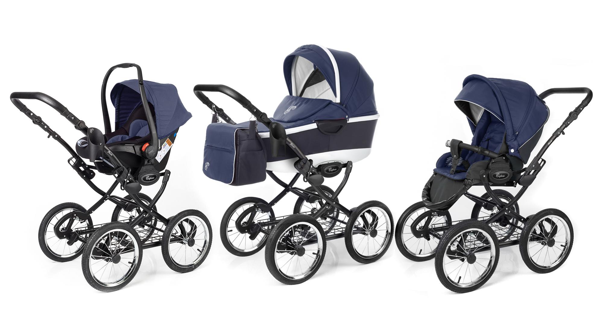 Топ-20 лучших колясок для новорождённых детей