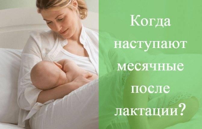 Когда после родов начинаются месячные при искусственном вскармливании?