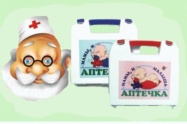Аптечка для новорожденного — список лекарств и средств для ухода