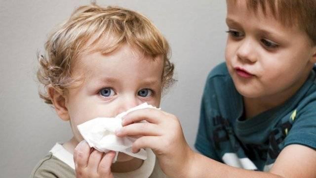 У ребёнка не дышит нос, а соплей нет