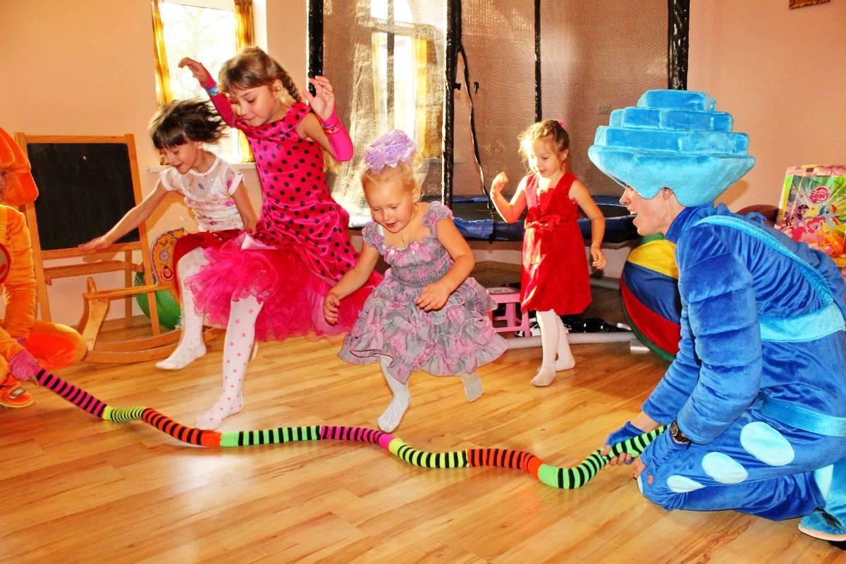 Веселые конкурсы для детей на день рождения от 4 до 6 лет