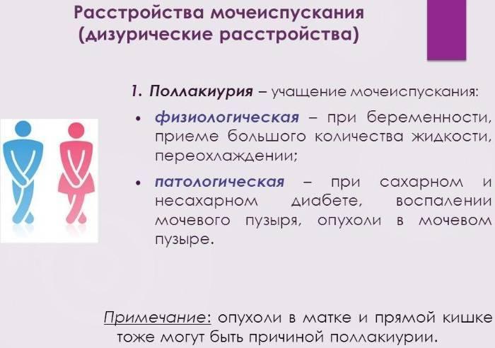 Дизурия: что это такое, симптомы и причины расстройства у женщин, диагностика и лечение