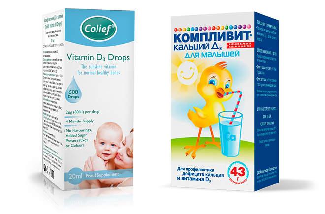 Как давать витамин д ребенку – инструкция по применению