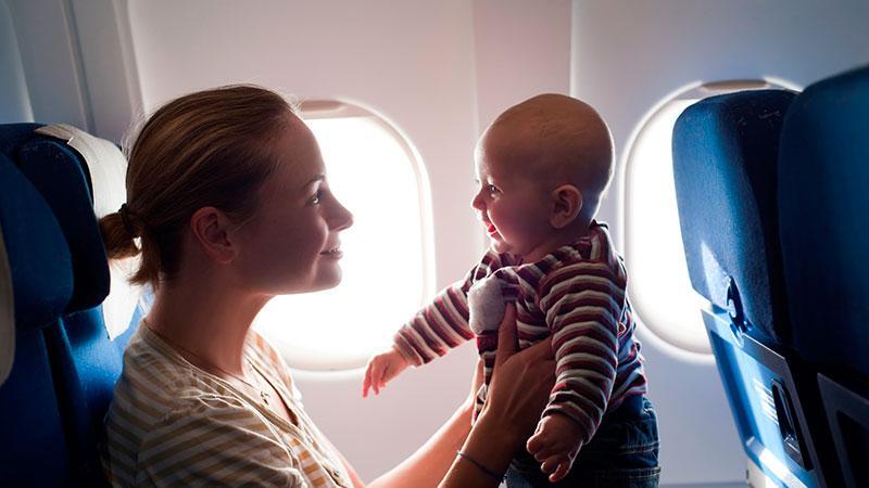 Как летать смладенцем