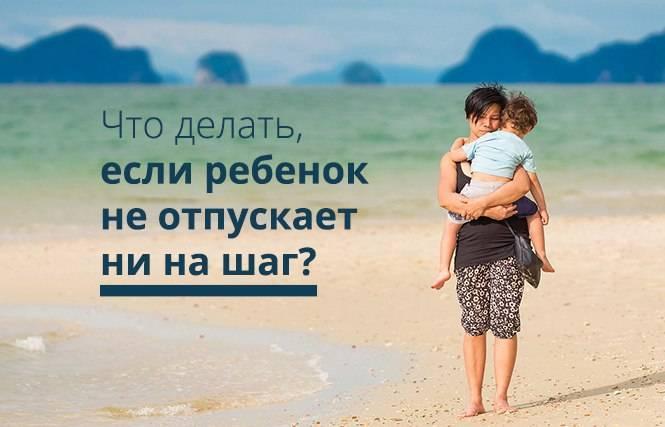 Ребенок меня не отпускает!   качество жизни   наша психология