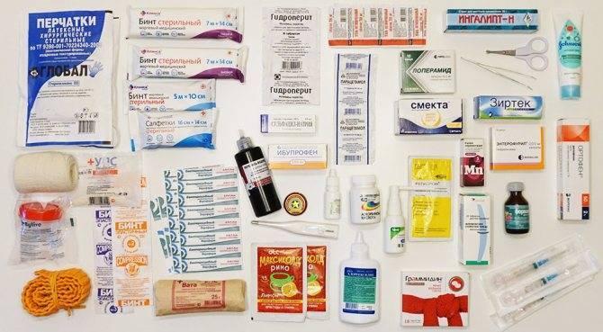 Готовые аптечки для новорожденного: сравнение составов и цен производителей. список для самостоятельного наполнения