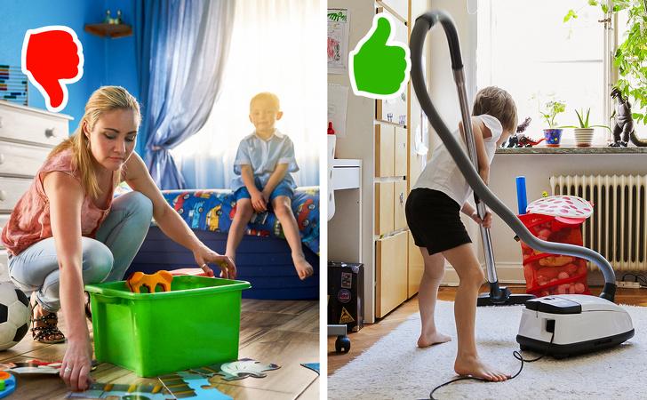 Простые способы приучить ребенка к домашним обязанностям
