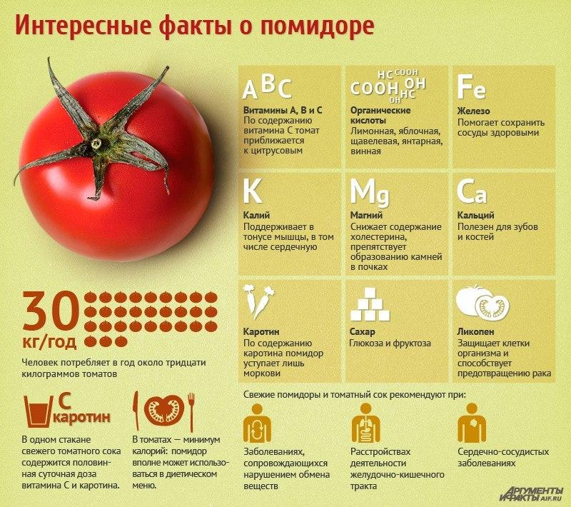 Когда ребенку можно помидор ? состав польза вред