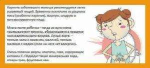 У малыша симптомы поноса и рвоты с повышенной температурой: причины и способы лечения