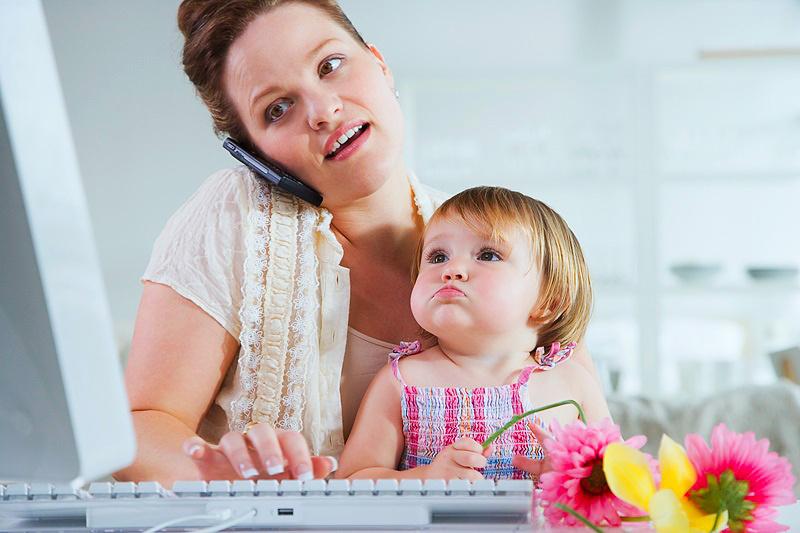 Работа в интернете на дому для мам в декрете без вложений и обмана