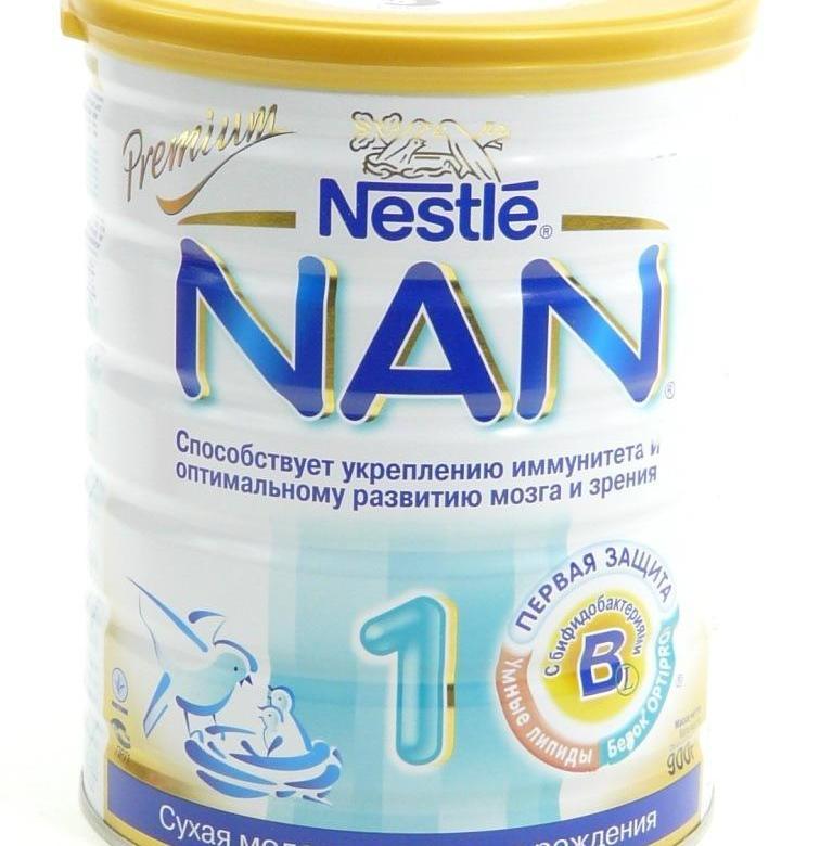 С какого возраста дают смесь нан 2. детское питание «nan optipro»: как разводить для новорожденных? широко применяются основные линейки нан
