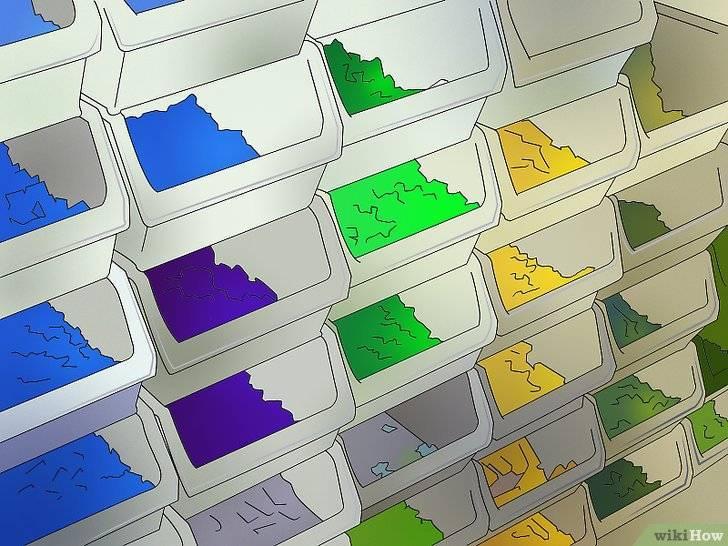 Идеи, системы и сортировка лего для хранения