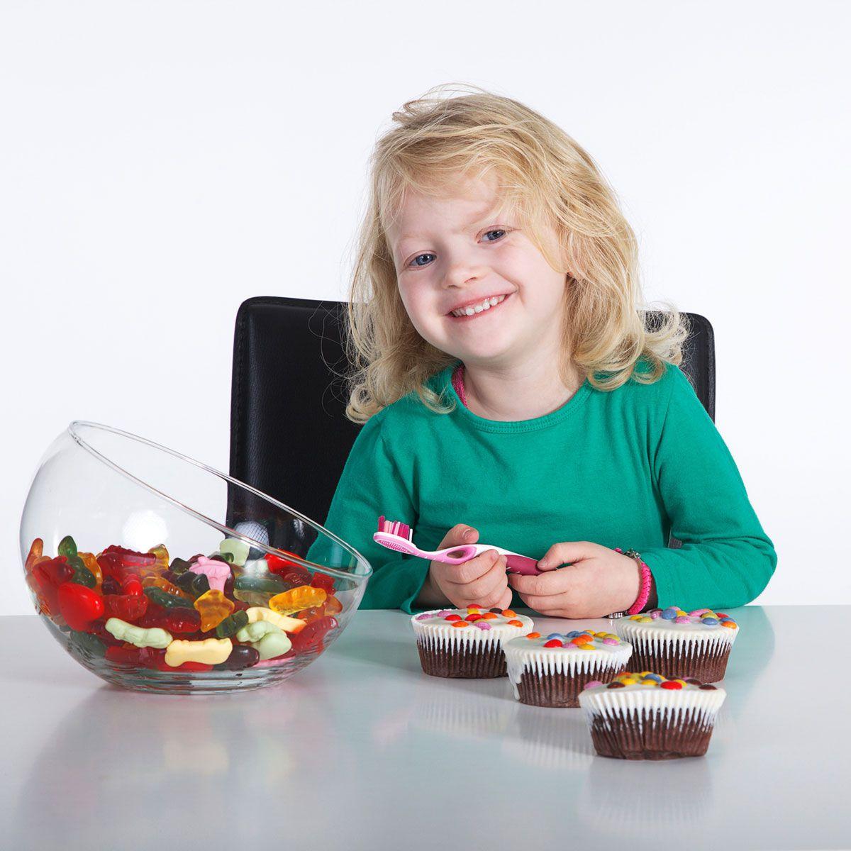 Сладости ребенку полезные для пищеварения и вредные