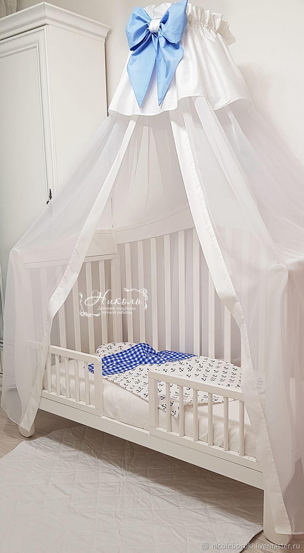 Как сшить балдахин на детскую кроватку