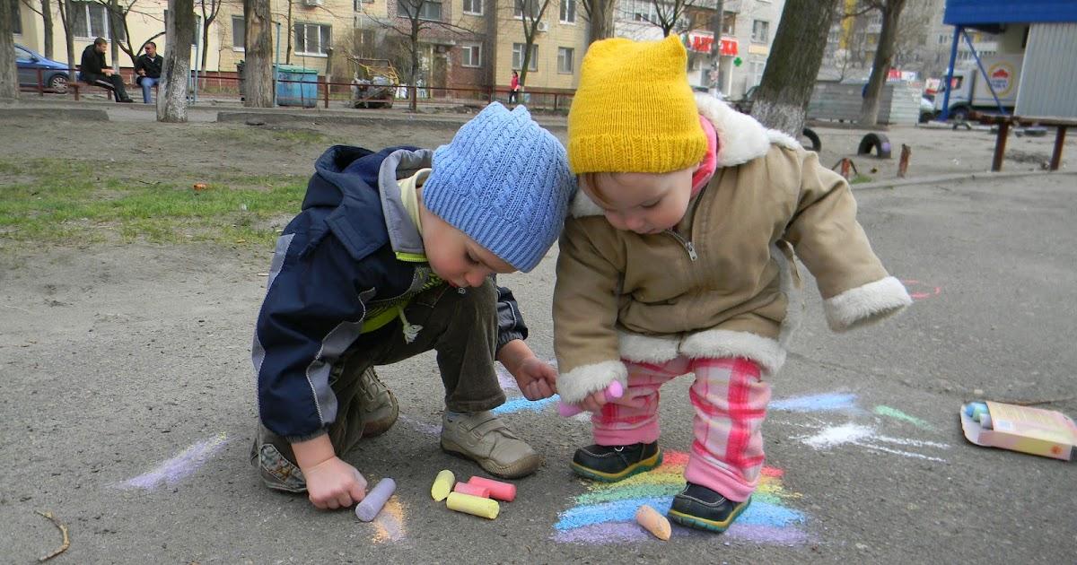 Чем занять малыша весной на прогулке   авторская платформа pandia.ru