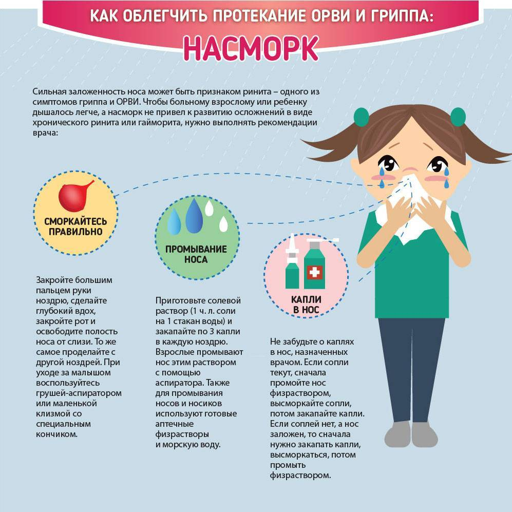 7 тревожных симптомов орви у ребенка