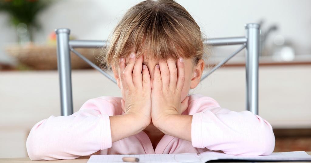 Тревожный ребенок - статьи о психологии