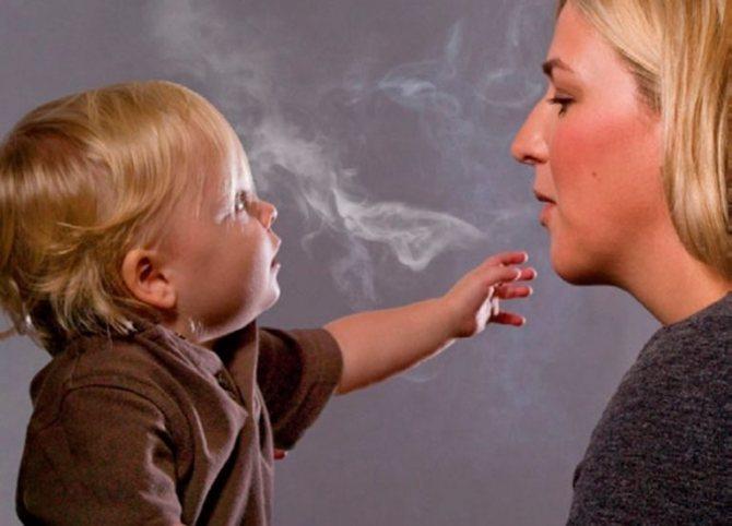 Попадает ли никотин в грудное молоко: опасноcти, вред и осложнения курения при грудном вскармливании