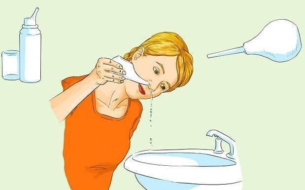 Раствор для промывания носа в домашних условиях – как промыть нос у ребенка?