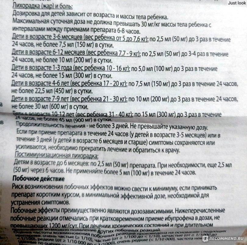 Инструкция по применению нурофен® детский (таблетки)