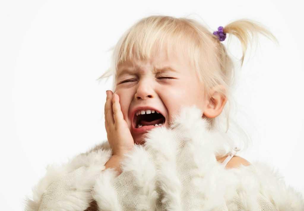 Особенности детских истерик