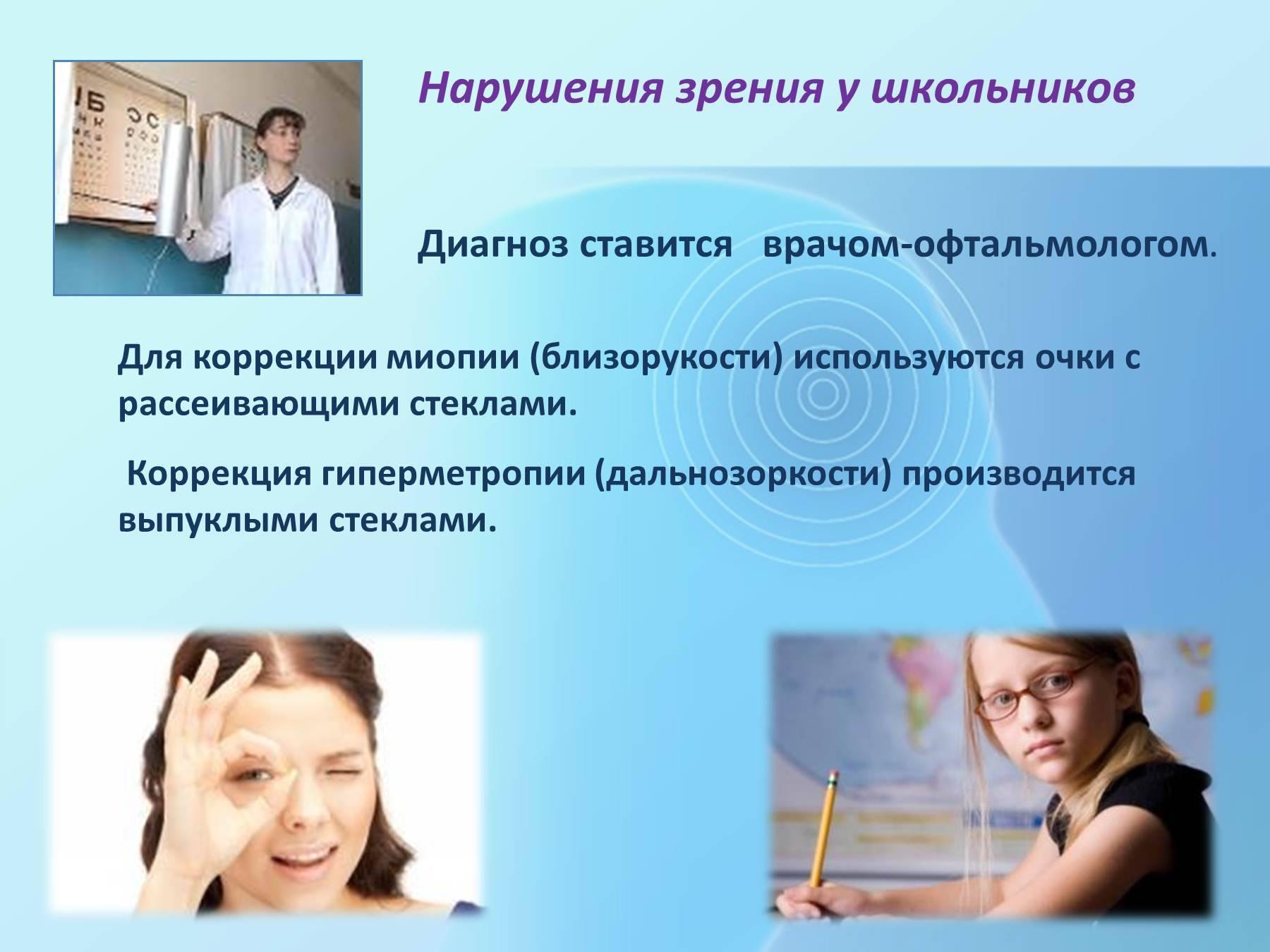 Дальнозоркость у детей 4 лет лечение