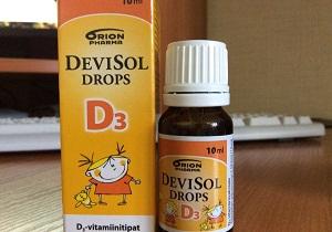 Как правильно давать грудничку витамин д?