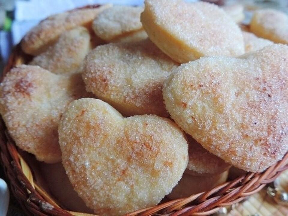 Овсяное творожно-банановое печенье