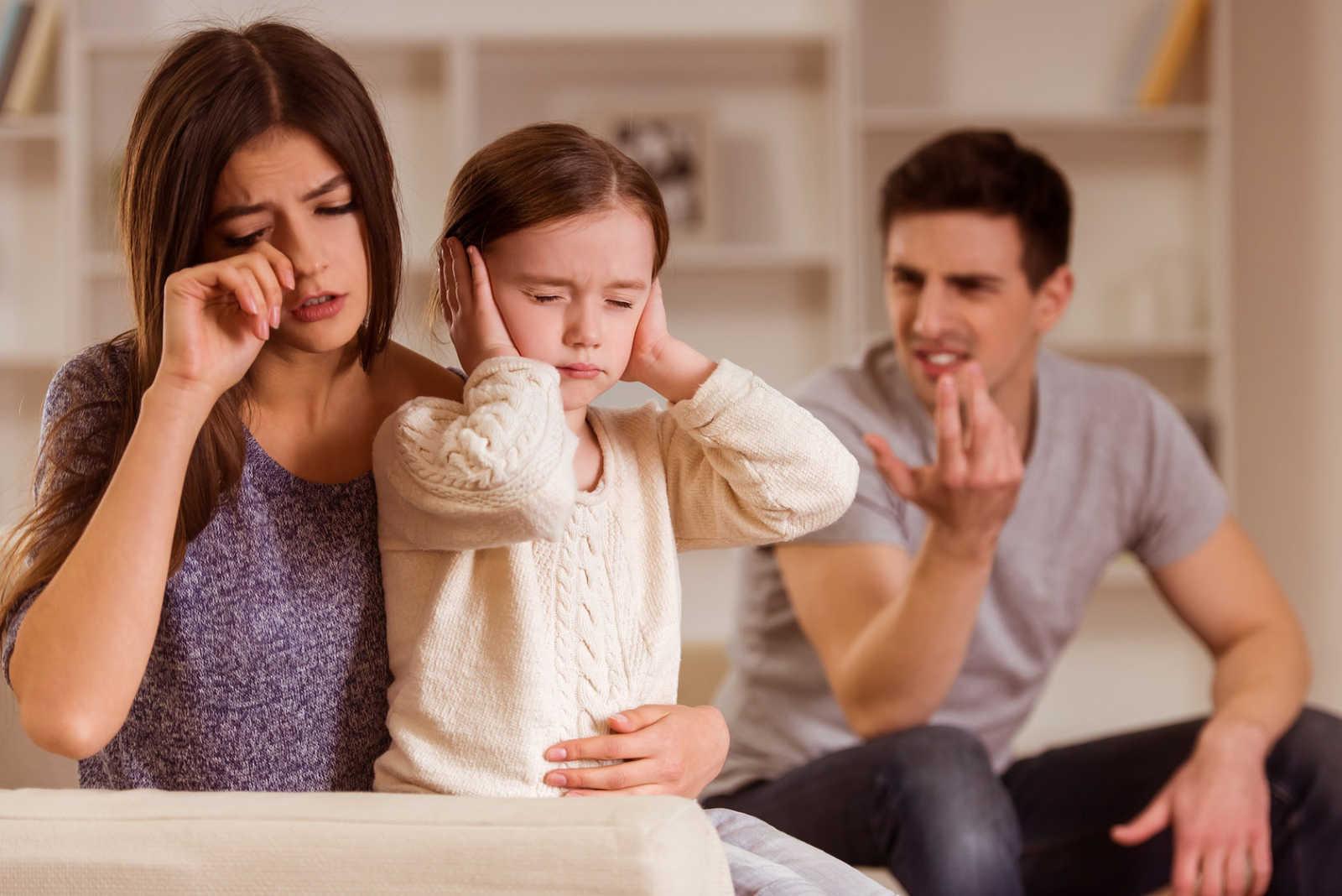 Скандалы в семье - что делать и как их прекратить