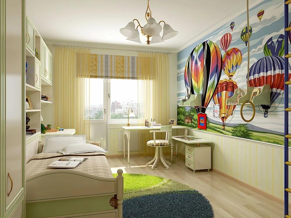 Дизайн комнаты для девочки 12 кв.м.: оформление, цвет - 75 фото