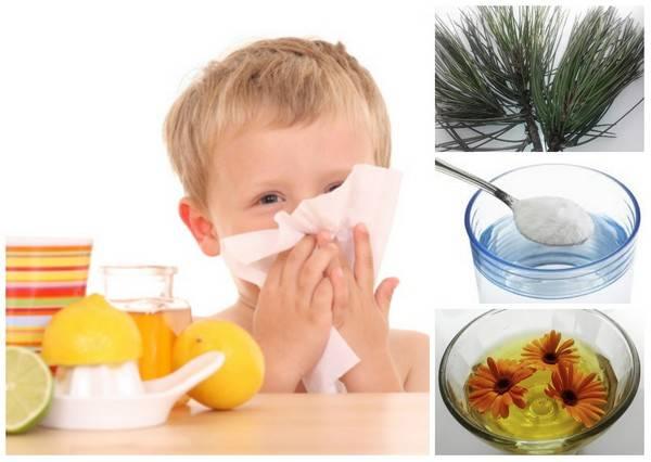 Чем можно лечить заложенность носа у детей?